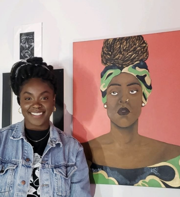 Dig Until You Hit The Root:  Multimedia Artist Eunice Adounkpe Finds Her Core